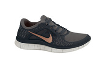 Nike Women's Free Run+ 3 mid fg/mtlc red brnz/black/gmm gr